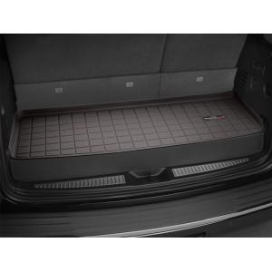 Коврик в багажник BMW X7 G07, всесезонный, Weathertech, какао
