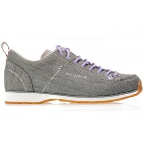 Ботинки женские Dolomite Cinquantaquattro LH Canvas Grey/Lilac Violet